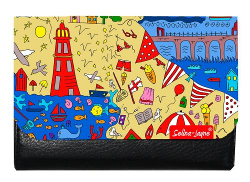 Selina-Jayne British Seaside Limited Edition Designer Small Purse